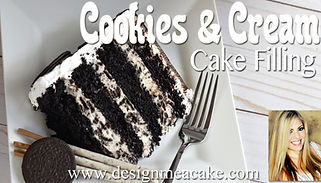 Cookies & Cream Cake FIlling