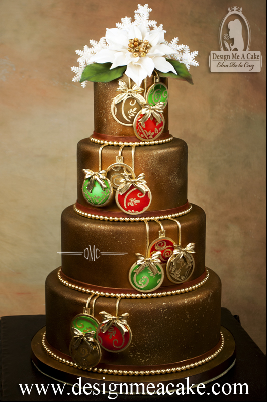 Ornaments Cake