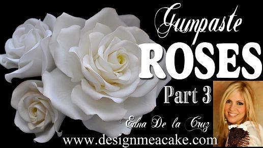 Gumpaste Roses Tutorial