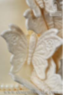Gumpaste lace butterflies