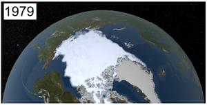 Hielo Artico en 1979 - Fuente NASA