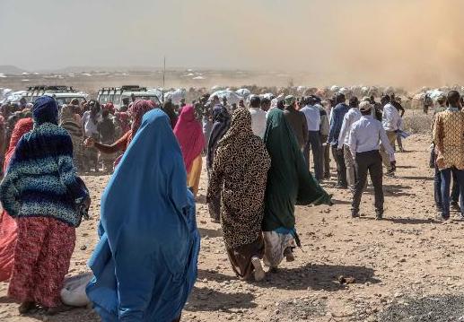 Desplazamientos internos en Sudán