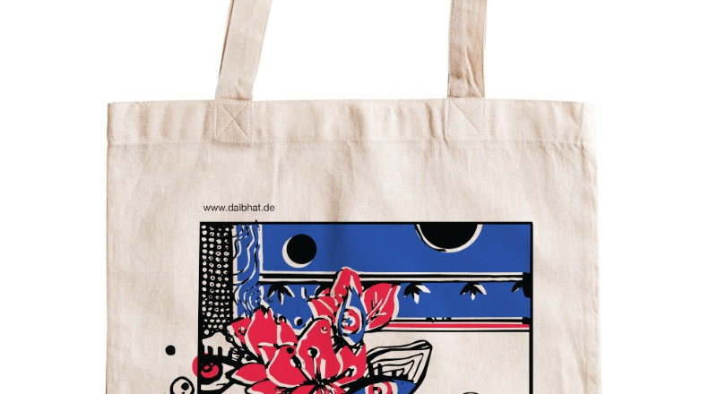 Dalbhat x Nepal  Canvas Shopper Bag
