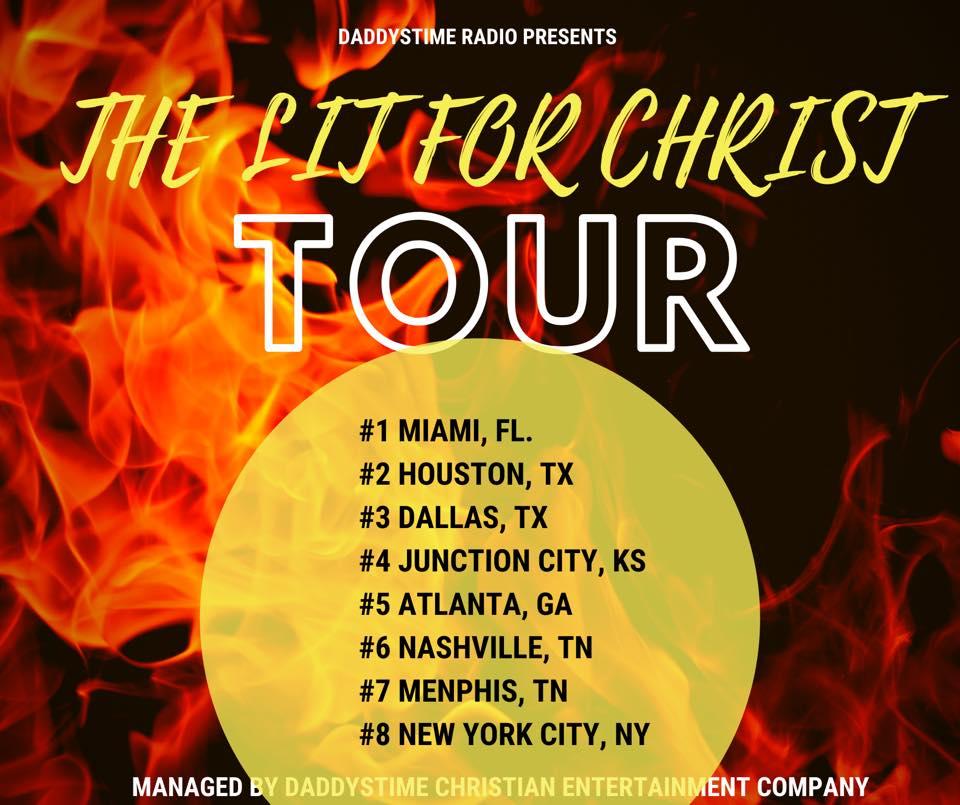 Lit for christ tour