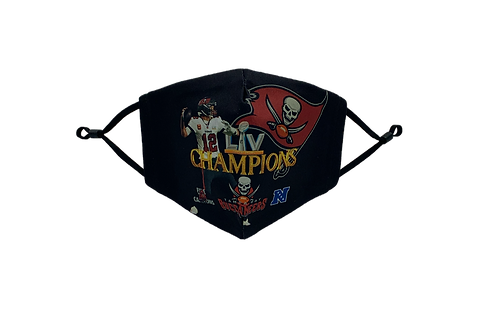 Super Bowl LV Champions  - Tampa Bay Buccaneers - Face Mask