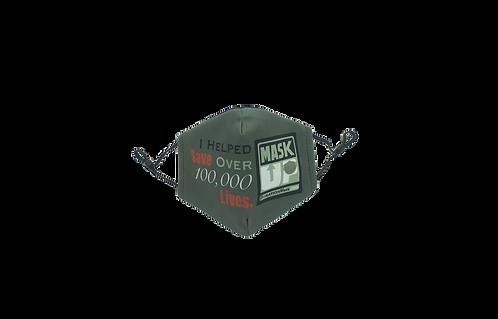 Mask Up - Save Lives - Face Mask