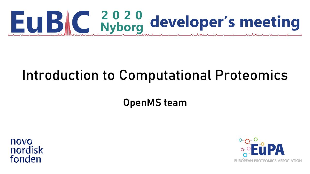 EuBIC2020 keynotes