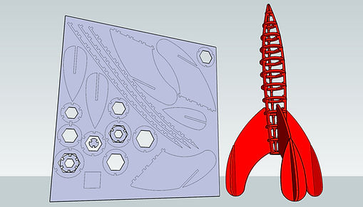 Tintin Rocket 3D by syvwlch on Flickr (CC BY 2.0)