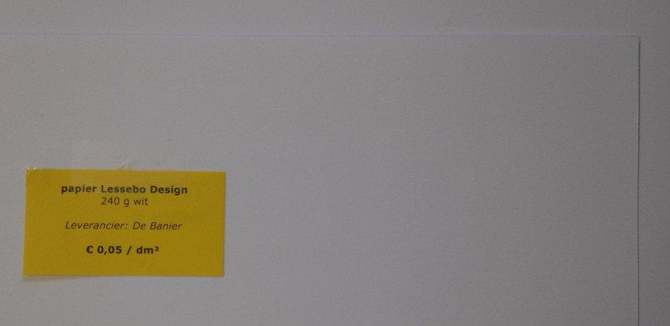 papier Lessebo Design 240 g - wit