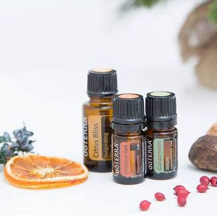 Holiday Make & Take with DoTerra Essential Oils