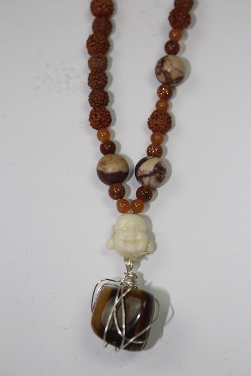 Orange Jade, Goldstone, Picture Jasper & Tigers Eye