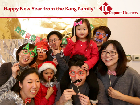 Happy New Year From the Kang Family!
