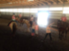 horse camp riding lessons