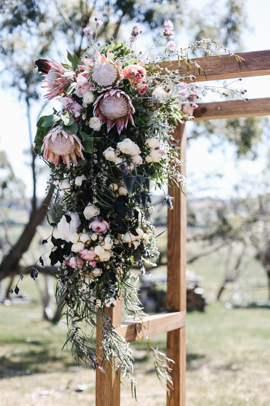 Wedding Arch and Florals