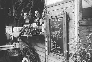 Horse box Oyster bar_ one night only_ #e