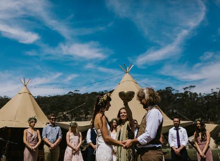 Summer Festival Wedding Vibes