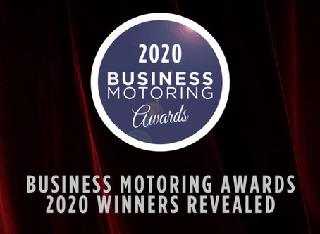 We've been 'Highly Commended' at the Business Motoring Awards 2020