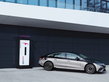 New Mercedes EQS Flagship Electric Vehicle