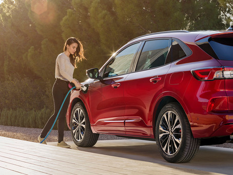 Ford Kuga Plug-In Hybrid drivers achieve 49% all-electric miles