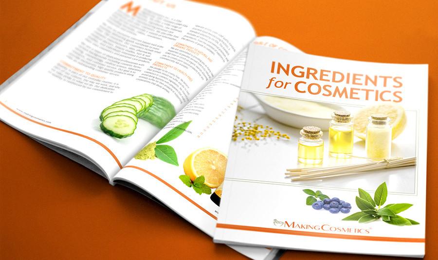 Making Cosmetics catalog | Graphic Designer | Kristina Reinholds