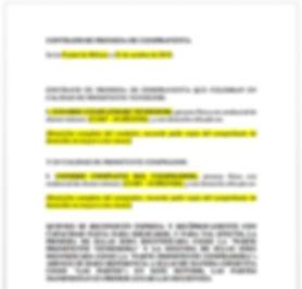 Contrato promesa de compraventa  de bienes inmuebles
