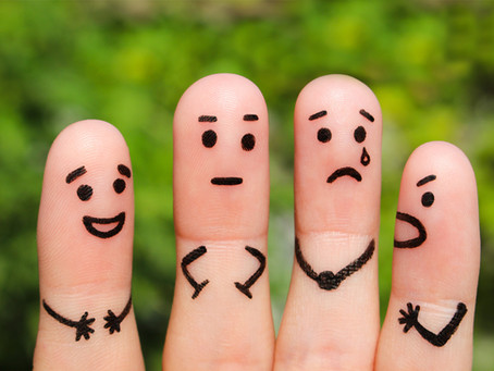 90% de notre temps d'éveil est passé à ressentir des émotions...