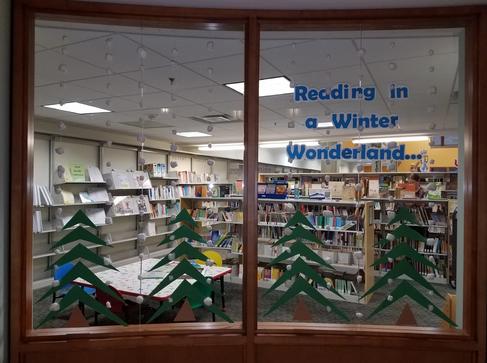 Reading in a winter wonderland…