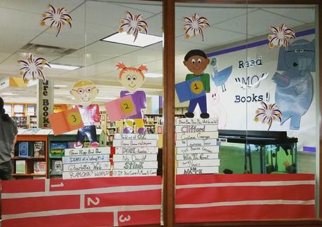 Summer Read & Learn display