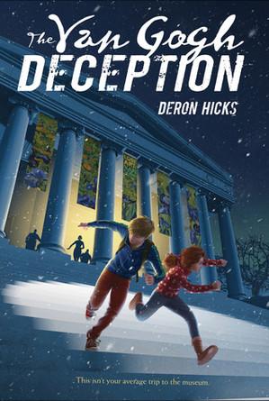 4-6th Grade Virtual Book Discussion: The Van Gogh Deception by Deron Hicks