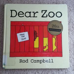 Dear Zoo Flannel Board
