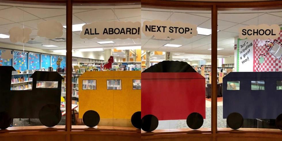 All Aboard! Next Stop: School