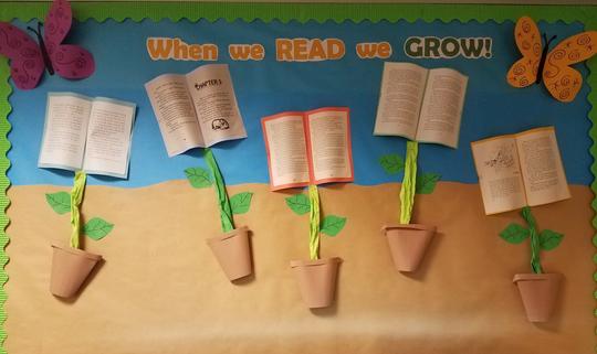 When we READ we GROW!