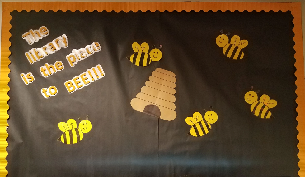 The library is the place to BEE!!!