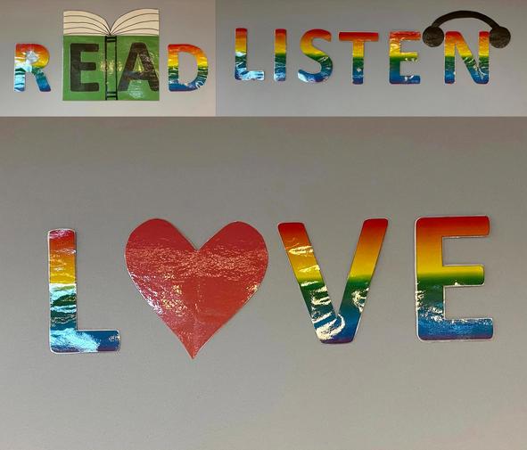 Read, Listen, Love!