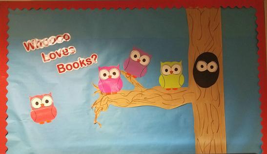 Whoooo Loves Books?
