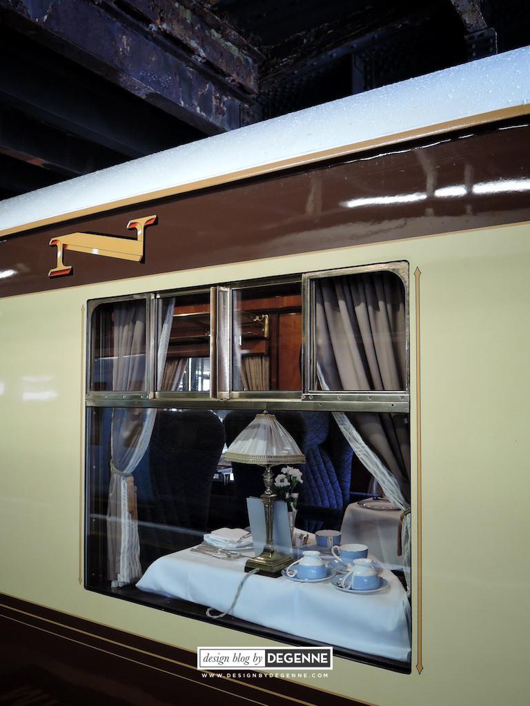 Restaurant carriage Belmond British Pullman