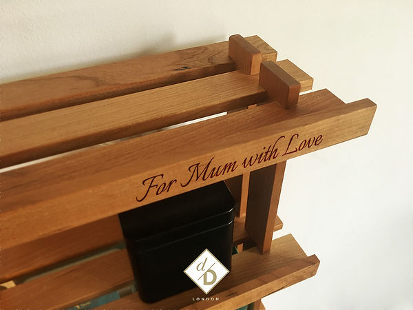 Stornoway Tea Rack details 3 | Design by