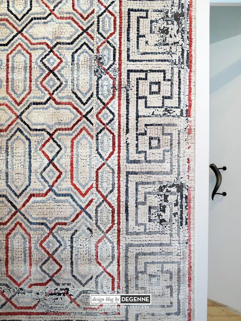 Dverill mosaic rug