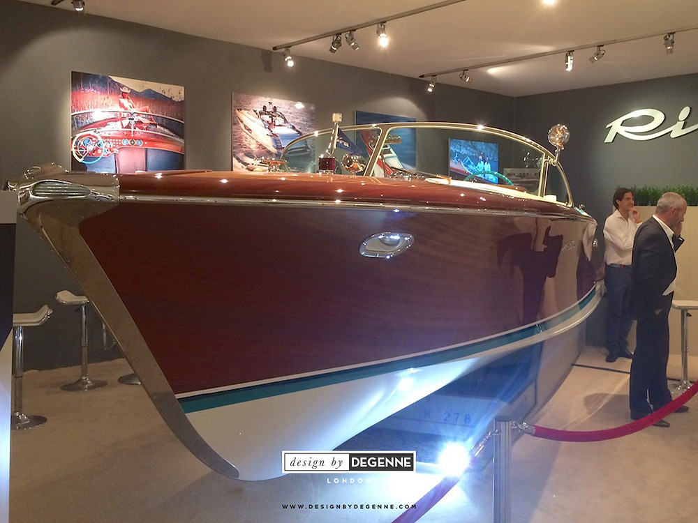 Riva Ariston boat by Ventura at Masterpiece London 2017