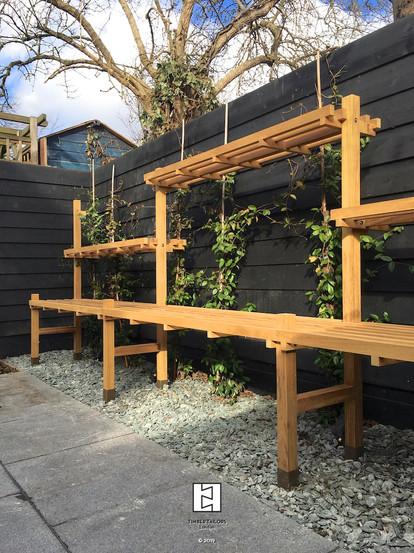 Adjustable bonsai + plant stand
