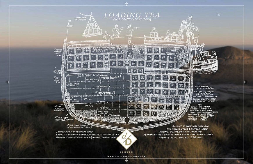 Stornoway Tea Rack illustration loading