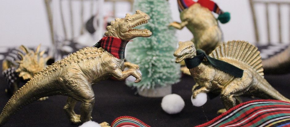 KID'S TABLE: DINOSAUR WINTER WONDERLAND