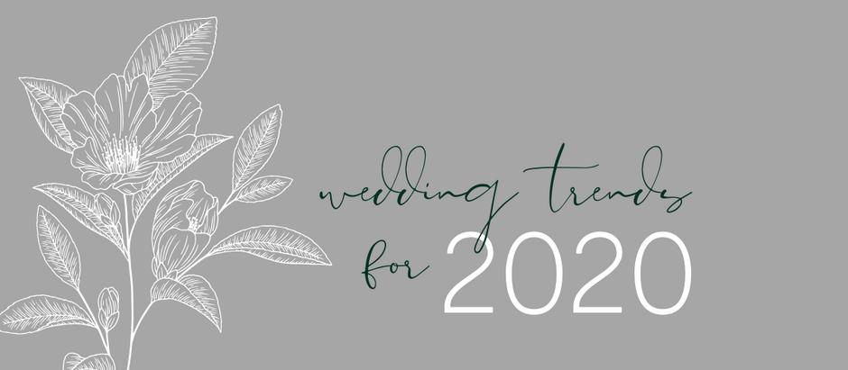 TRENDING IN 2020