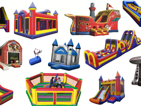 ITEM FEATURE: INFLATABLES