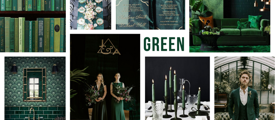 TRENDING: LAYERS OF GREEN