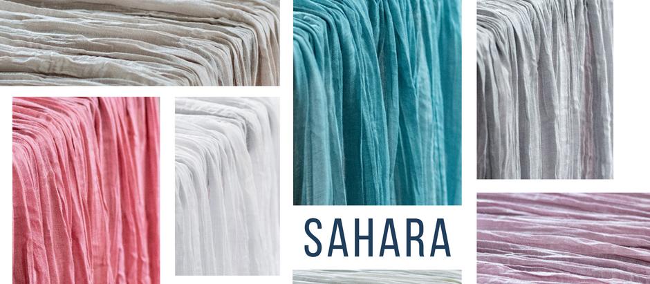 ITEM FEATURE: SAHARA LINENS