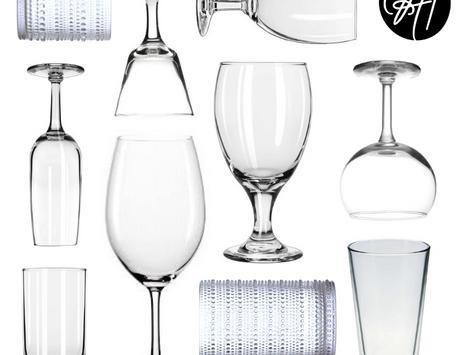 ITEM FEATURE: GLASSWARE