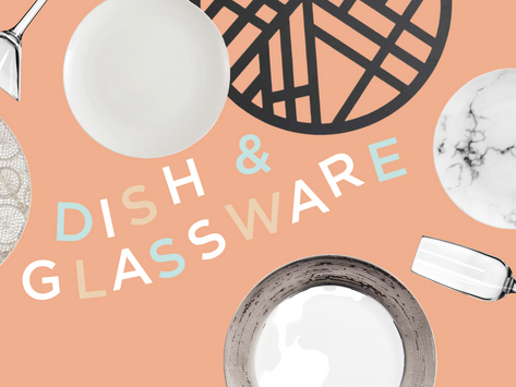 ITEM FEATURE: DISH AND GLASSWARE