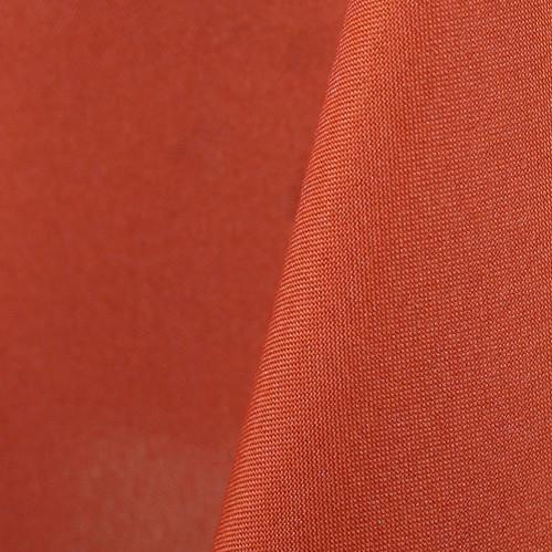 Burnt Orange Polyester