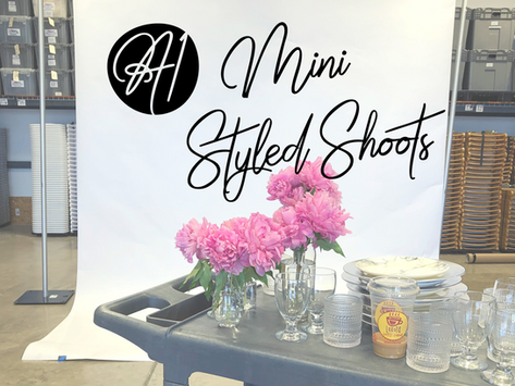 FEATURE: IN-HOUSE MINI STYLED SHOOTS